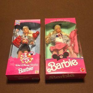 1990 & 1996 Disney Barbie